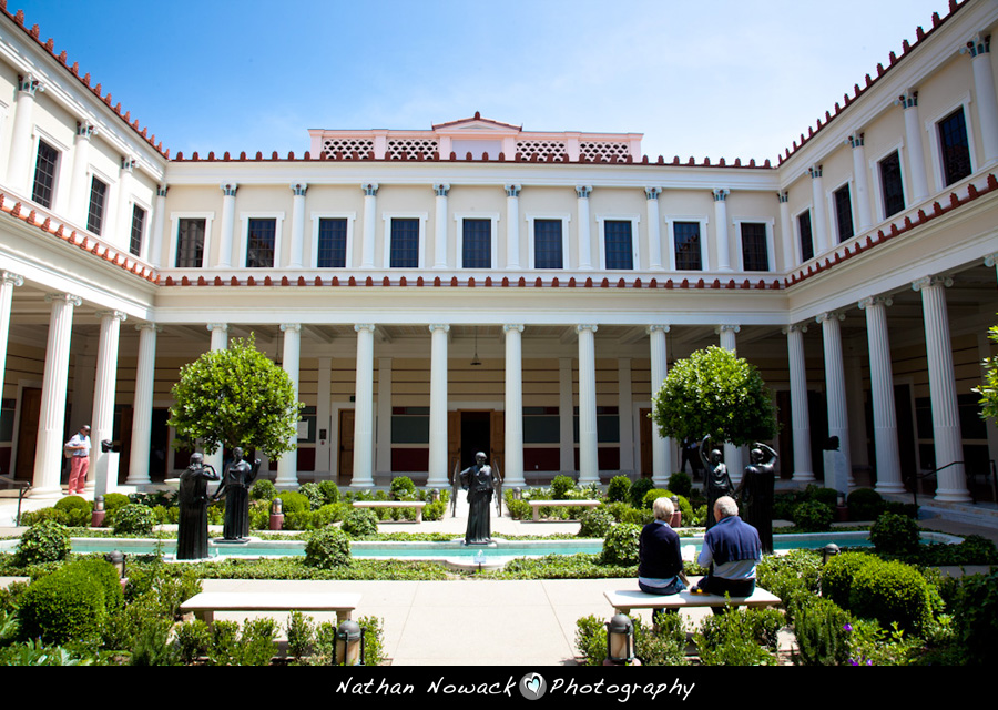 the getty villa different is good personal work